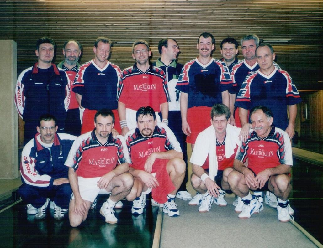 2000-01: Pokalmannschaft