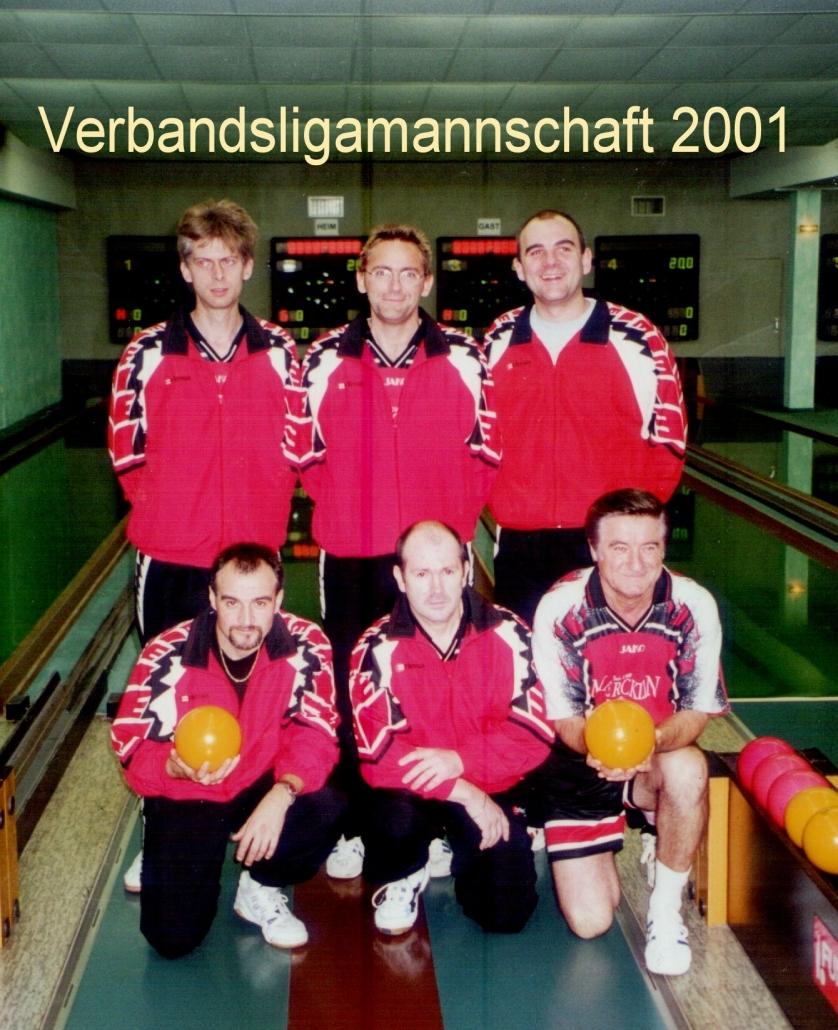 2001: Verbandsligamannschaft