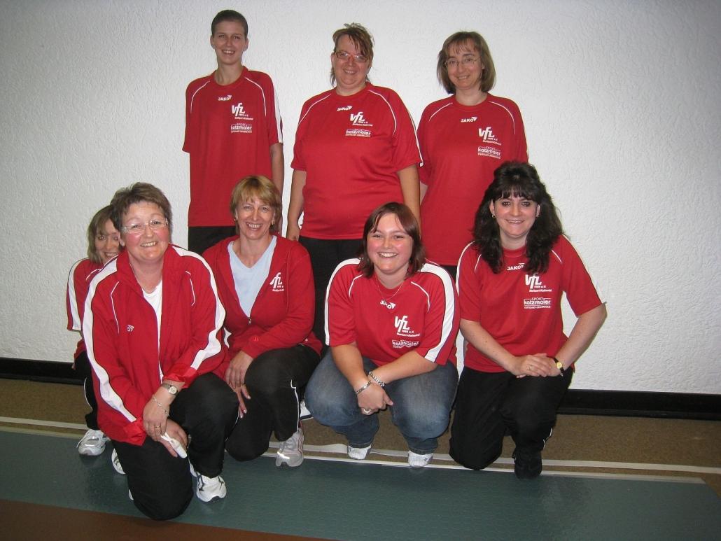 2009: Damenmannschaft