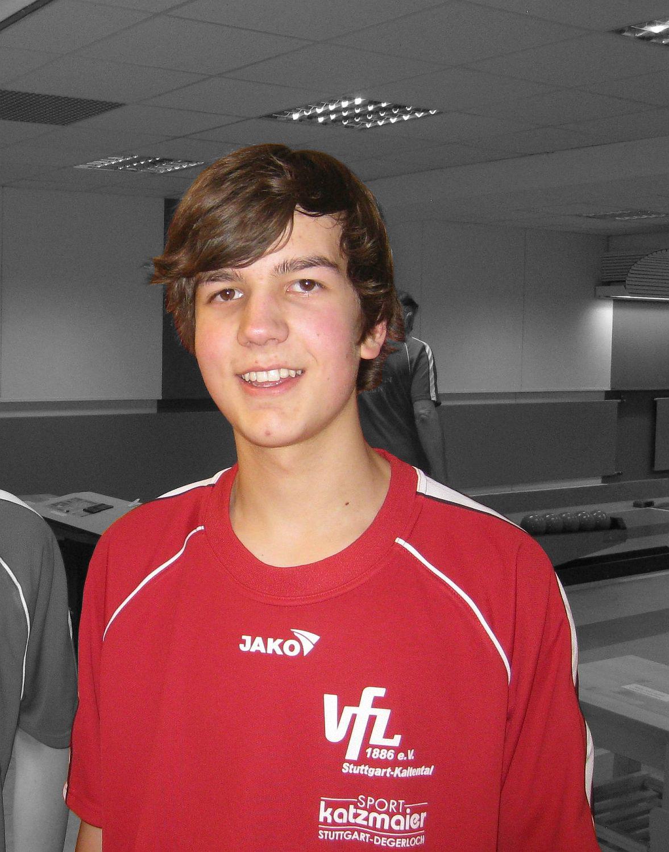 H. Walter - Einzelrekord U14: 540 Holz, Februar 2010